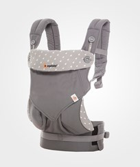 Ergobaby Four Position 360 Baby Carrier Grey Black