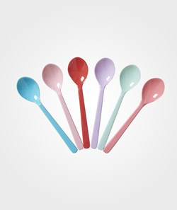 Rice Melamine Teaspoons in 6 Assorted 'Extraordinary' Colors