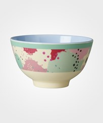 RICE A/S Small Melamine Bowl with Splash Print Multi