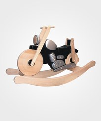 Bajo Wooden Rocking Motorbike Black