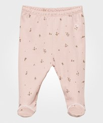 Livly Footed Leggings Mauve Flowers mauve flowers