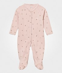 Livly Footed Baby Body Mauve Flowers mauve flowers