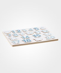 Kids Concept Number Board Puzzle Blue Blue