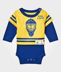 The BRAND Make A Save Baby Body Blue/Yellow Blue/Yellow