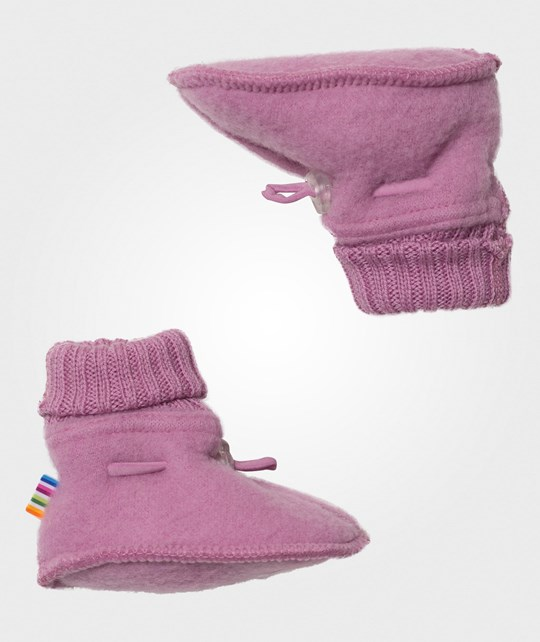 Joha Sleeping Booties Mauve Orch Mauve Orch