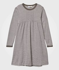 Joha Wool/Silk A-Line Dress Stripes YD Stripe
