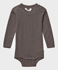 Joha Wool Baby Body Iron Brown Iron brown