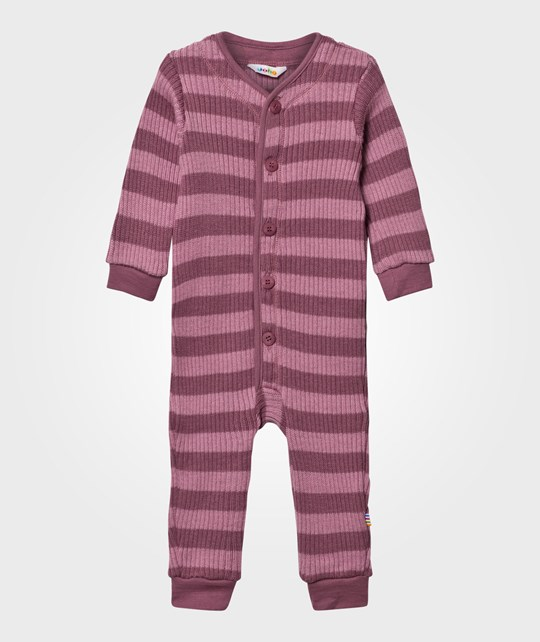 Joha Knit Wool Onesie Stripes YD StripeG
