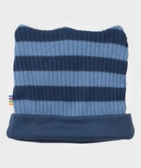 Joha Knit Wool Beanie Stripes YD StripeB