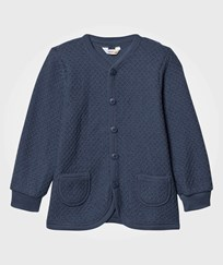 Joha Knit Wool Cardigan Ensign Blue Ensign Blu