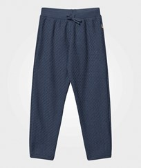 Joha Knit Wool Pants Ensign Blue Ensign Blu