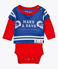 The BRAND Make A Save Baby Body Red/Blue Green