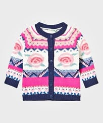 United Colors of Benetton Knit Rose Cardigan Multi Multi