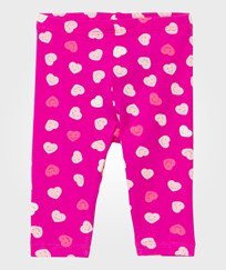 United Colors of Benetton Happy Heart Leggings Rosa Pink