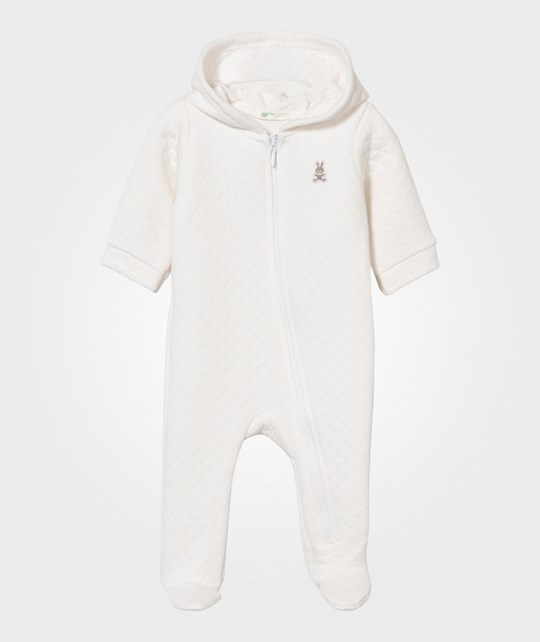 United Colors of Benetton Overall Off White Off white