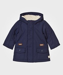 United Colors of Benetton Hooded Jacket Navy Navy