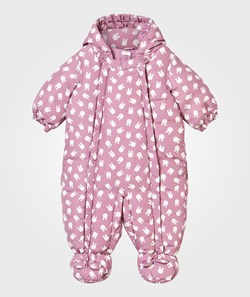 United Colors of Benetton Bunny Coverall Pink