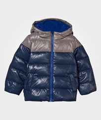 United Colors of Benetton Down Feather Puffer Jacket Navy Navy