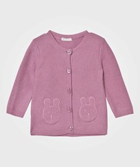 United Colors of Benetton Bunny Stickad Cardigan Rosa Pink