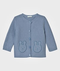 United Colors of Benetton Bunny Knit Cardigan Blue Blue