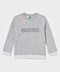 United Colors of Benetton Adventurous Sweater Grey Black