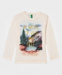 United Colors of Benetton Nature T-Shirt White White