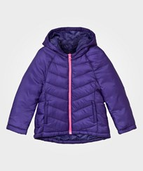 United Colors of Benetton Wadded Puffer Jacket  Purple Purple