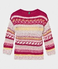 United Colors of Benetton Knit Sweater Multi Multi