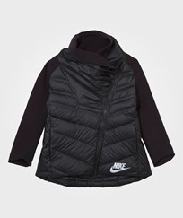 NIKE Black Sportswear Tech Fleece Aeroloft Cape BLACK/BLACK/REFLECTIVE SILV