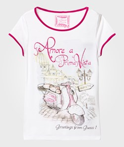 Guess T-Shirt With Vespa
