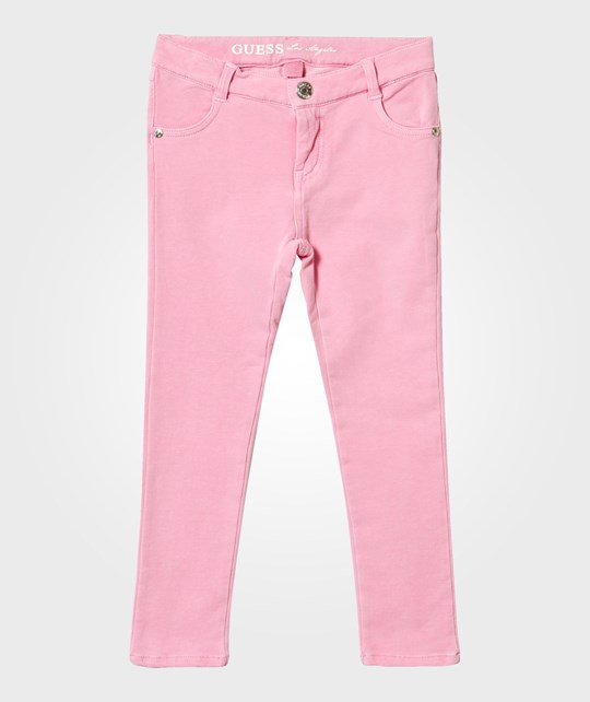 Guess Pink Trousers Pink