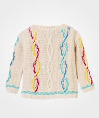 United Colors of Benetton Chunky Knit Sweater Cream Cream