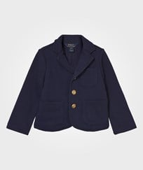 Ralph Lauren Cotton-Blend Blazer French Navy French Navy