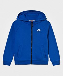 NIKE Blue Nike Air Fleece Zip Through Hoodie U89 GAME ROYAL