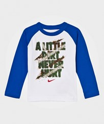 NIKE A Little Dirt Never Hurt Long Sleeve Tee U89 GAME ROYAL
