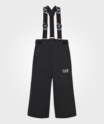 Armani Junior Black Klingler Ski Trousers 1200 BLACK