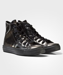 Converse Black Metallic Chuck Taylor All Star Hi Tops BLACK/METALLIC GUNMETAL/BLACK