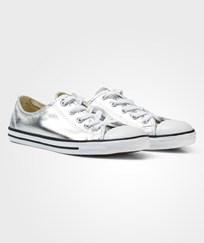 Converse Gold Metallic Chuck Taylor All Star Dainty Trainers LIGHT GOLD/BLACK/WHITE