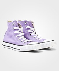 Converse Frozen Lilac Chuck Taylor All Star Hi Tops FROZEN LILAC