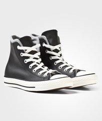 Converse Black and Grey Chuck Taylor All Star Hi Tops BLACK/EGRET/DOLPHIN
