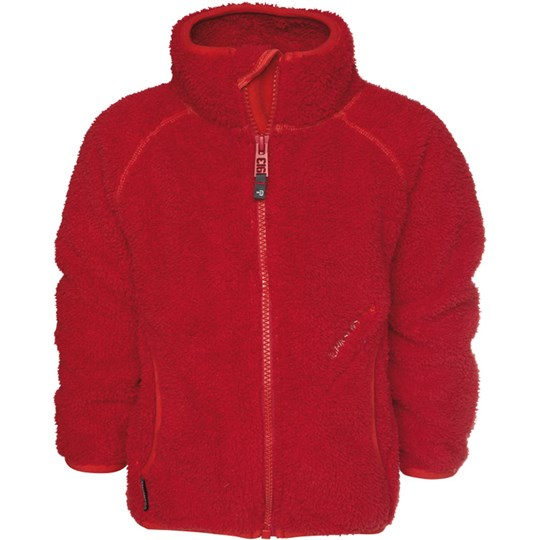Didriksons Corey Kids Jkt Red Red