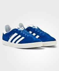 Adidas Originals Blue Junior Gazelle Trainers Blue