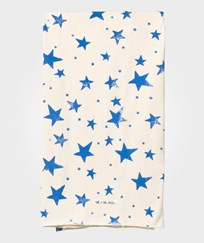 Noe & Zoe Berlin Blue Star Print Blanket Blue Stars