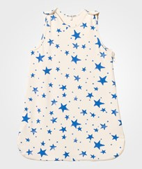 Noe & Zoe Berlin Blue Star Print Sleeping Bag Blue Stars