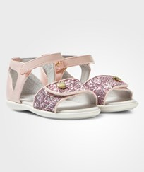 Mayoral Pink Glitter and Patent Sandals 54