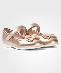 Mayoral Rose Gold Bow Pumps 75