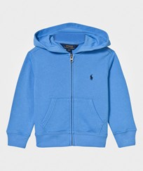 Ralph Lauren Cotton French Terry Hoodie Riviera Blue Riviera Blue