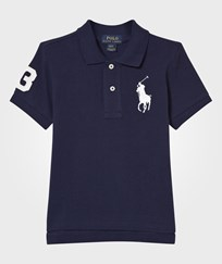 Ralph Lauren Short Sleeve Big Pony Top Knit Newport Navy Newport Navy
