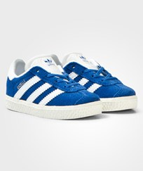 Adidas Originals Blue Infants Gazelle Trainers Blue