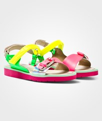 Stella McCartney Kids Multi-colour Patent Strappy Sandals 8490